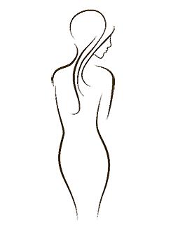 Disegno corpo donna